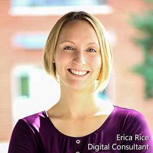 Erica Rice provides technical services and training to small business owners in Hampton Roads, VA