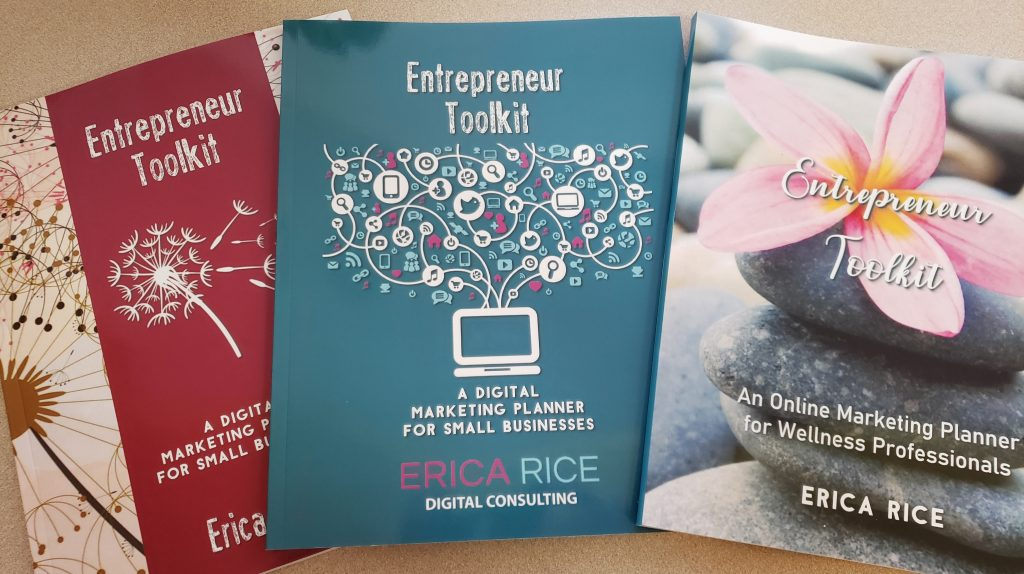 Entrepreneur Workbook and Social Media Planner